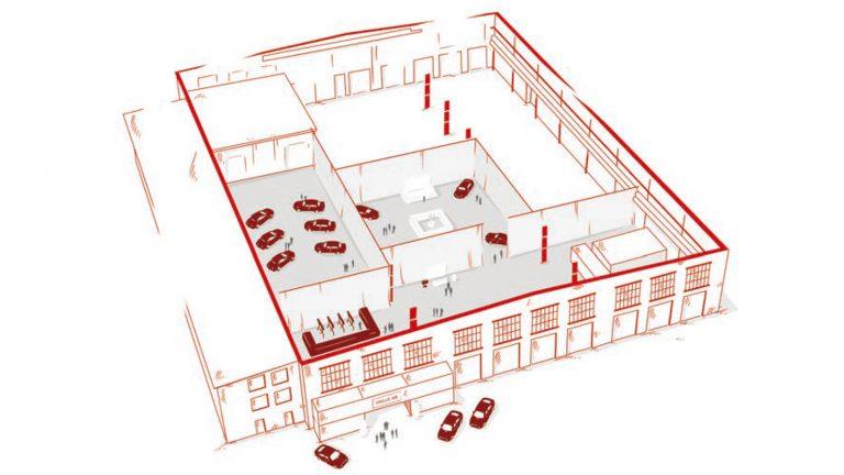 Halle 45 | Raumlösungen