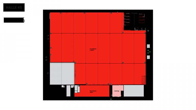 Halle 45 Grundriss